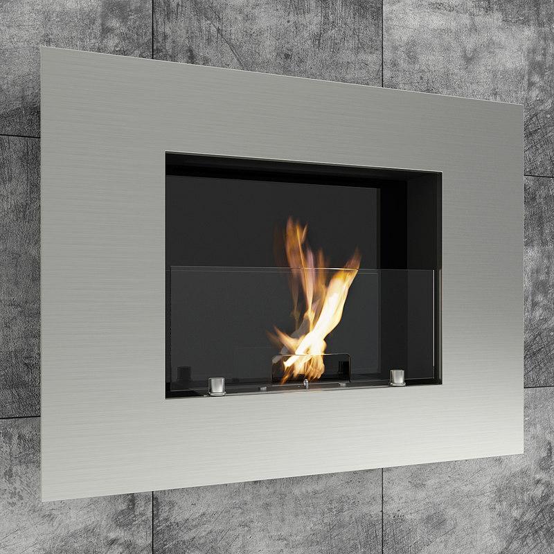 fireplace modern model