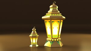egyptian fanoos ramadan 3D model