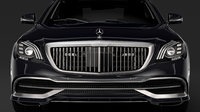 Mercedes Maybach S 650 Guard X222 2019