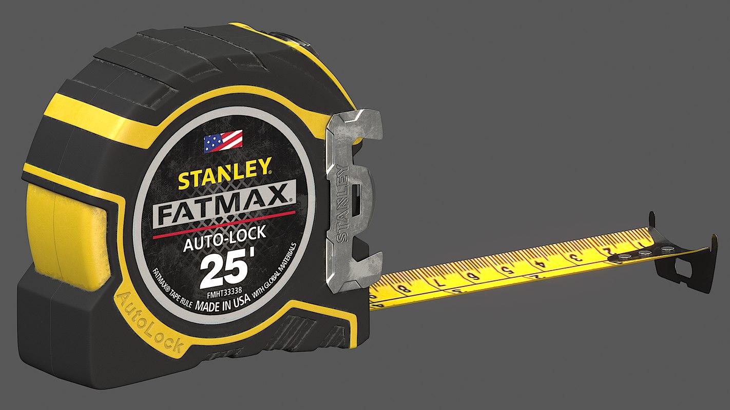 measuring tape 3D model