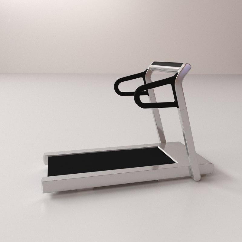 treadmill sports fitness 3D model
