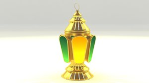 egyptian fanoos ramadan 3D