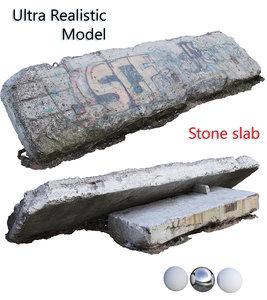 3D scan stone slab
