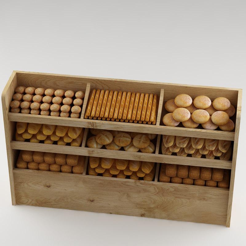 bread shelf model
