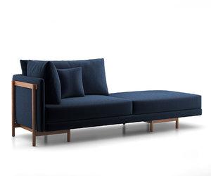3D neri hu frame sofa model