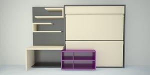 movable furniture beds model