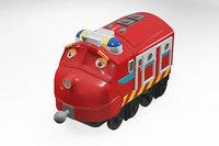 chuggington style train 3D model