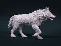 Wolf High Poly