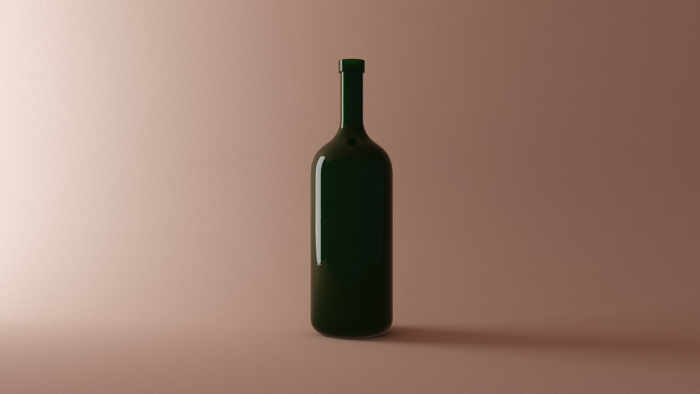 basic green bottle model
