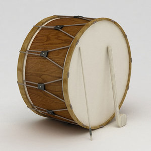 3D turkish ramadan drum