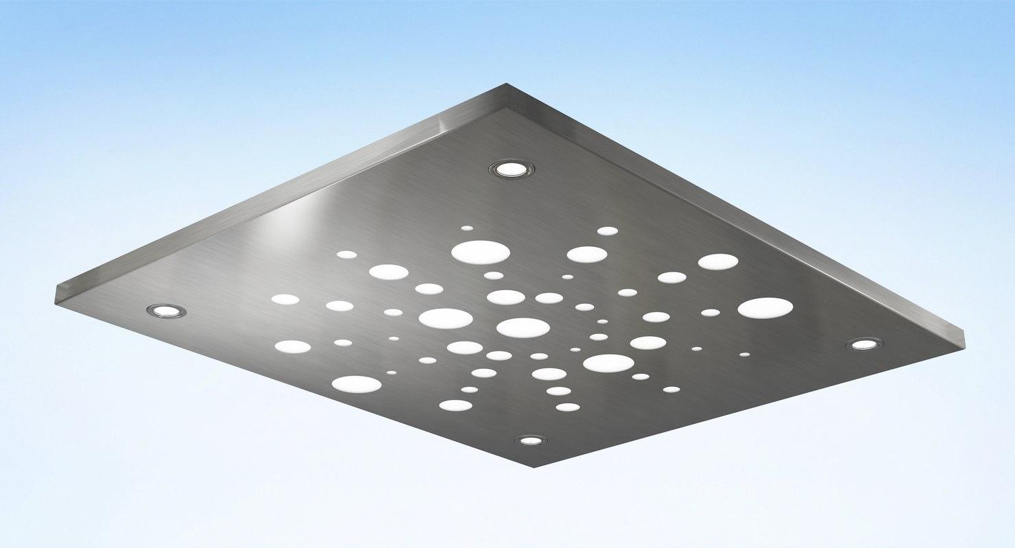 3D stainless steel plate elevator model