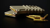 pmag magazine bullet 3D