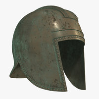 3D illyrian helmet