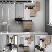 Bathroom furniture set Arcom eGo 3