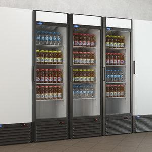 refrigerator bottle 3D model