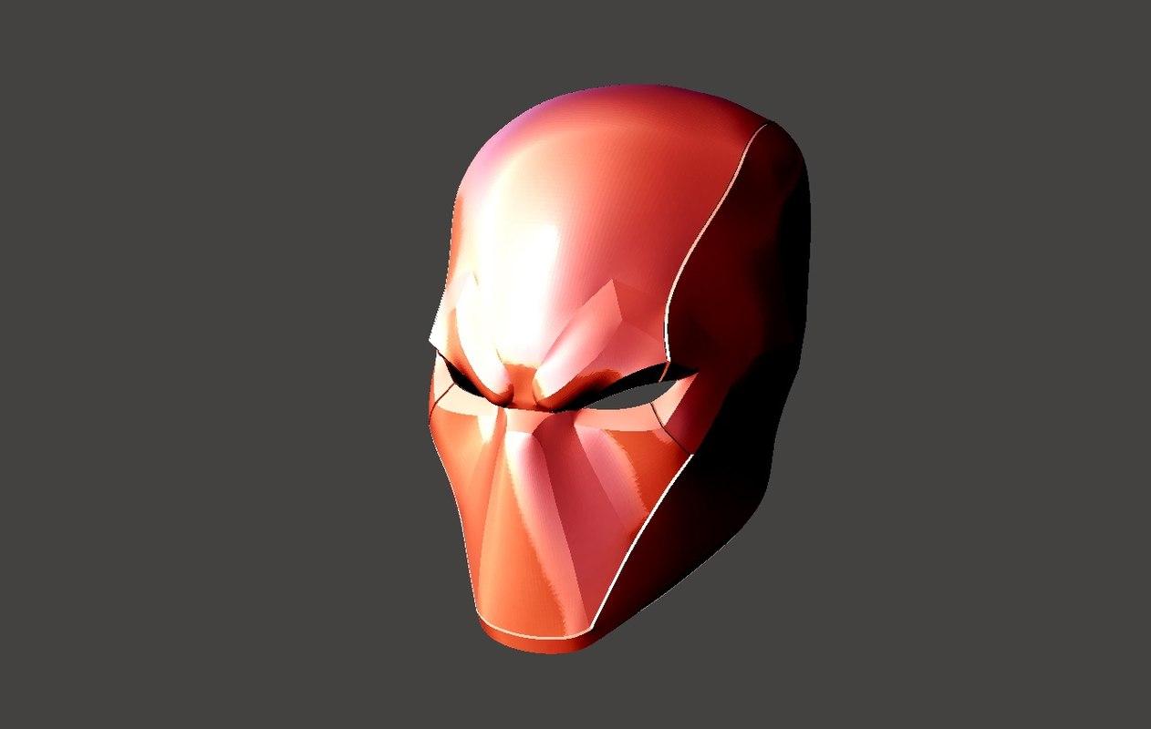 3D helmet printing model