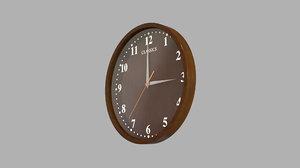 clock model
