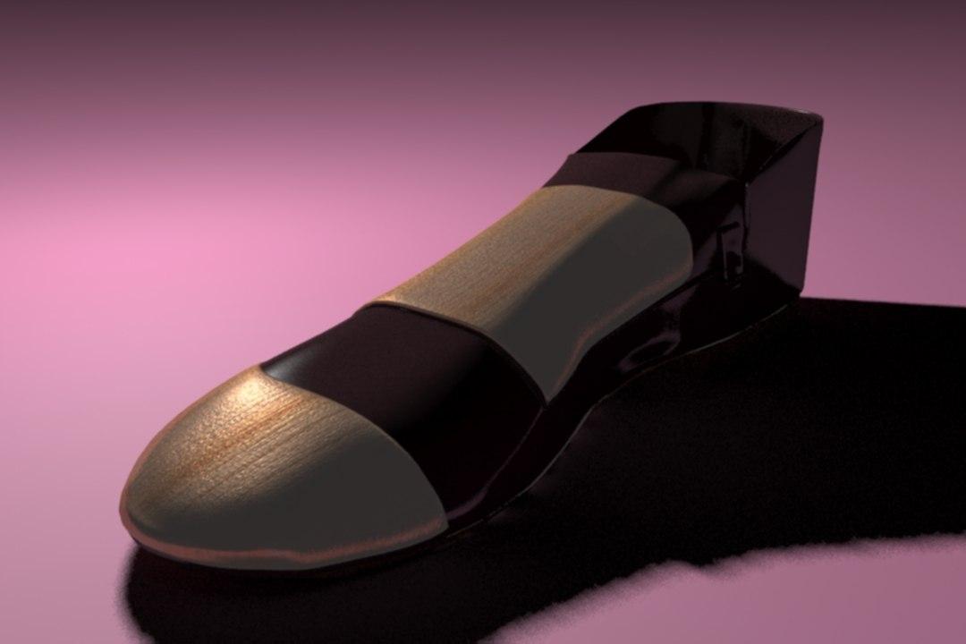 bloggers shoes 3D model