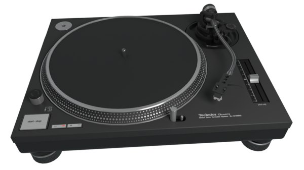 3D technics mk2 turntable