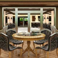 3D restaurant interior 04