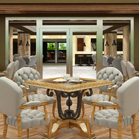 restaurant interior 04 3D model