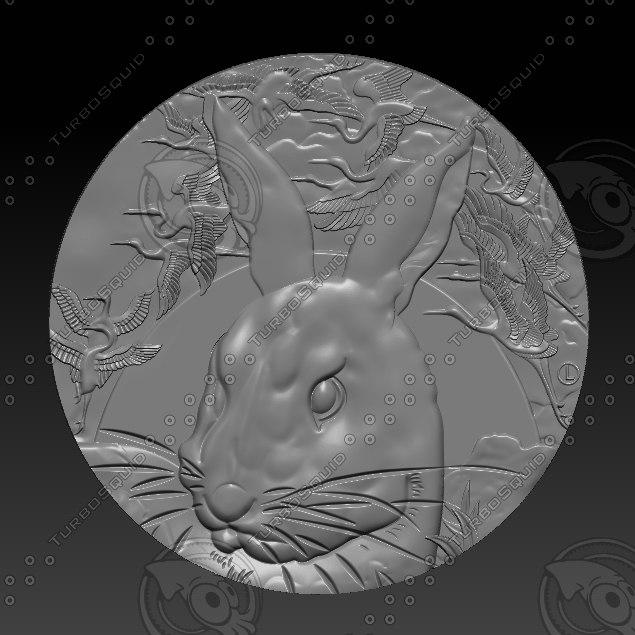 3D stl rabbit