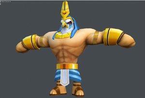 3D egyptian