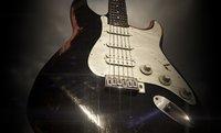 guitar stratocaster pbr 3D