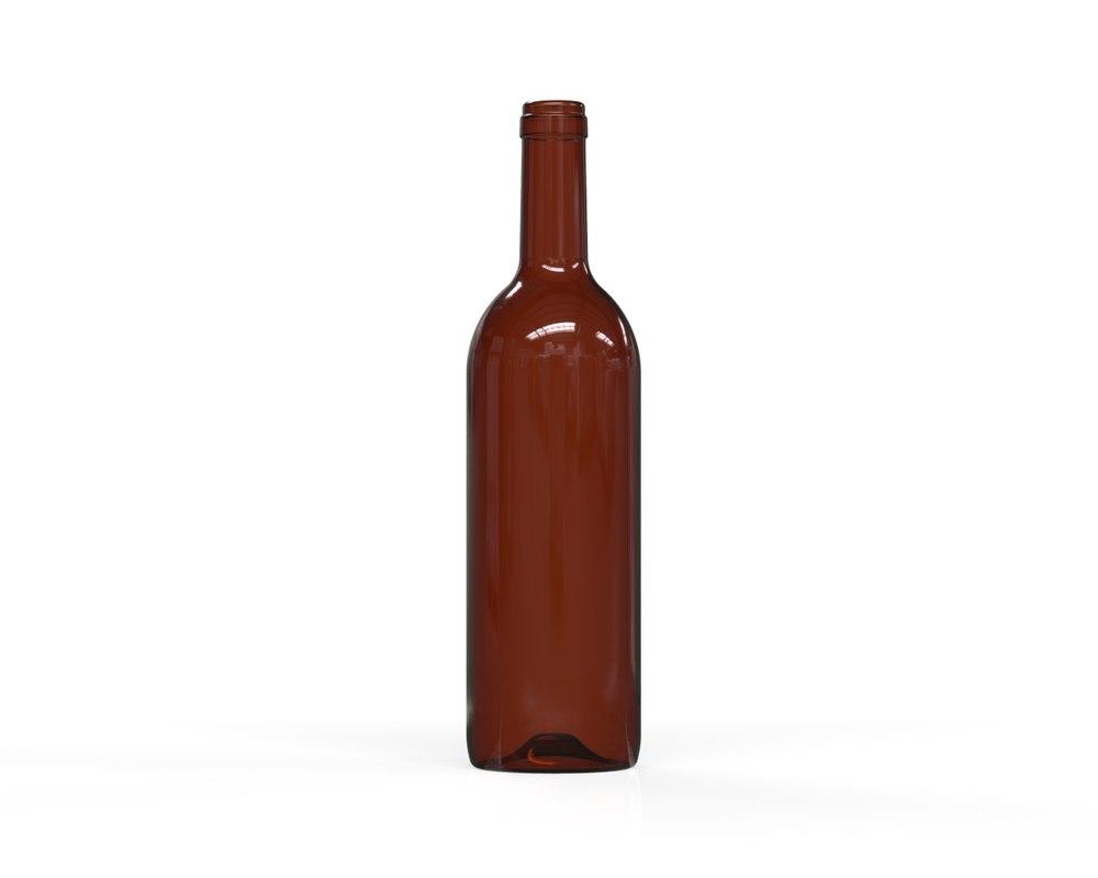 glass bottle 55 model