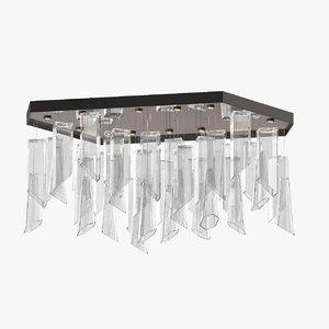 3D model wired custom lighting kello