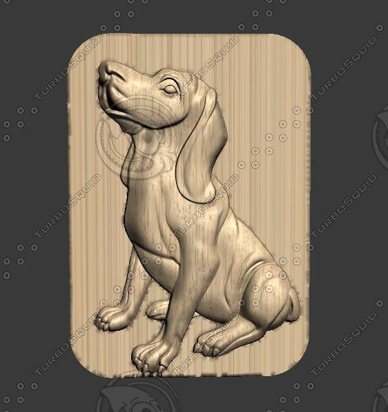 3D puppy pup