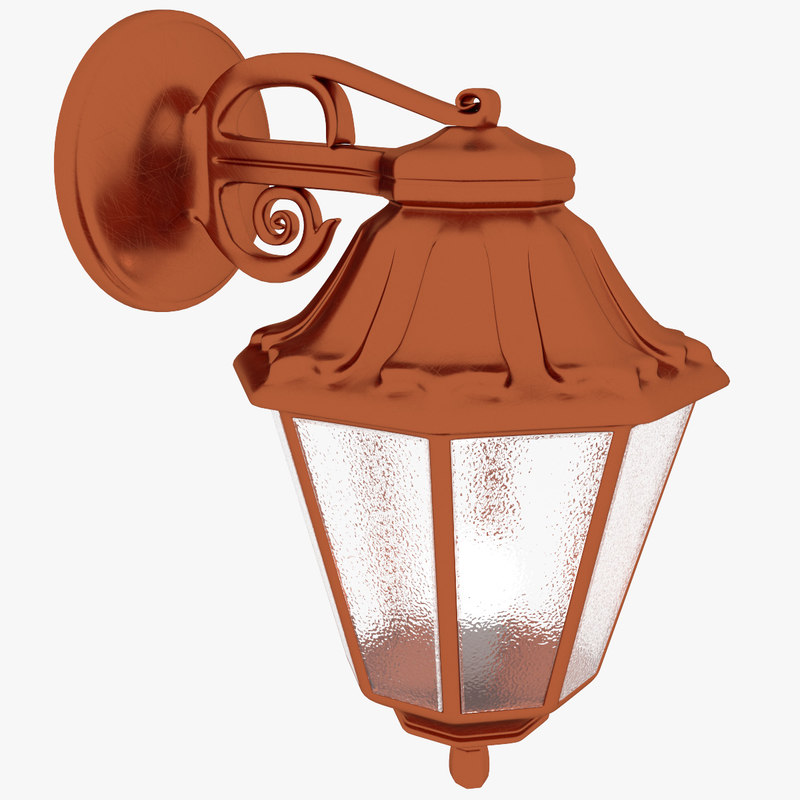 3D outdoor luminaire fumagalli bisso model