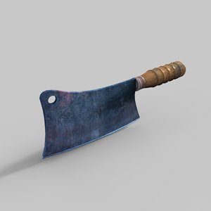 cleaver knife 3D