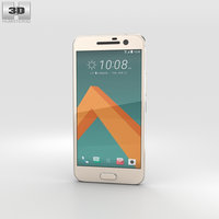 3D htc 10 topaz model