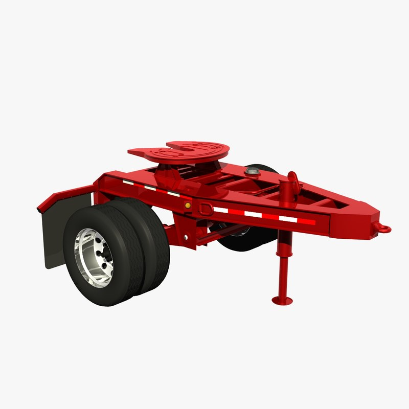 dolly chassis 3D