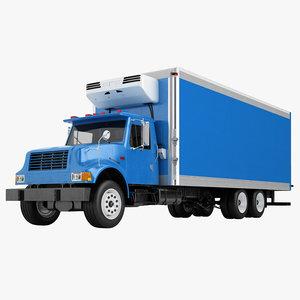 3D international 4700 box model