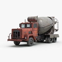 industrial cement mixer truck model