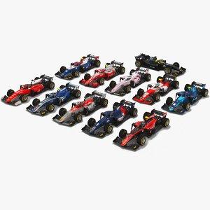 pack formula 2 car 3D