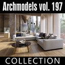 archmodels vol 197 sofas 3D model