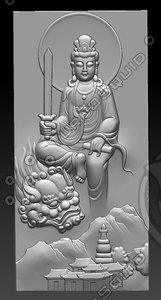 stl buddhas 3D model