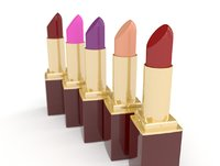 3D model lipstick makeup health