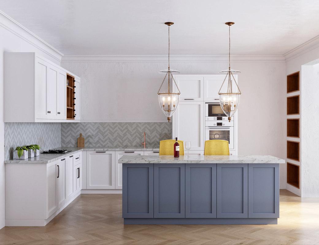 milton kitchen bosch 3D model