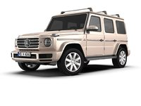 3D mercedes-benz g-class 2018 model