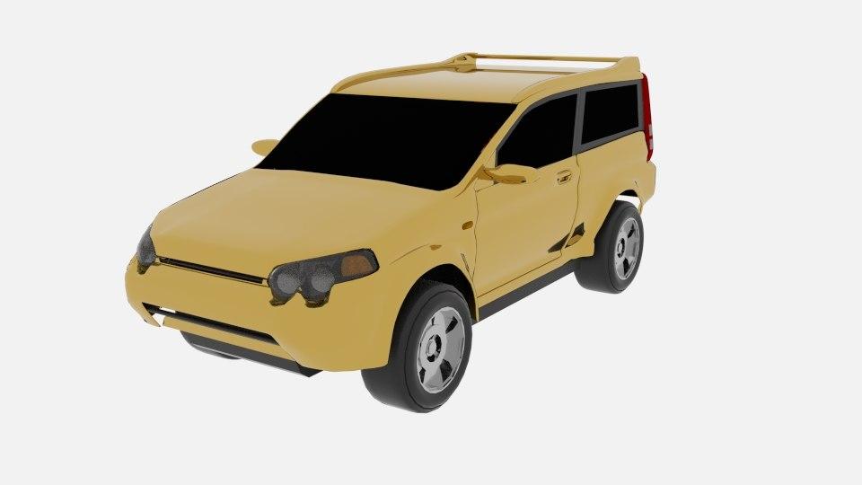 3D generation honda hr-v