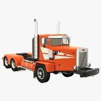 3D model 346 truck