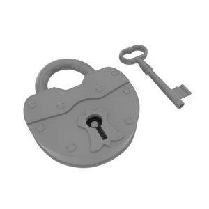3D quads lock key