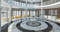 modern lobby 3D model