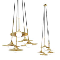 ss-5 disc pendant lamps 3D model