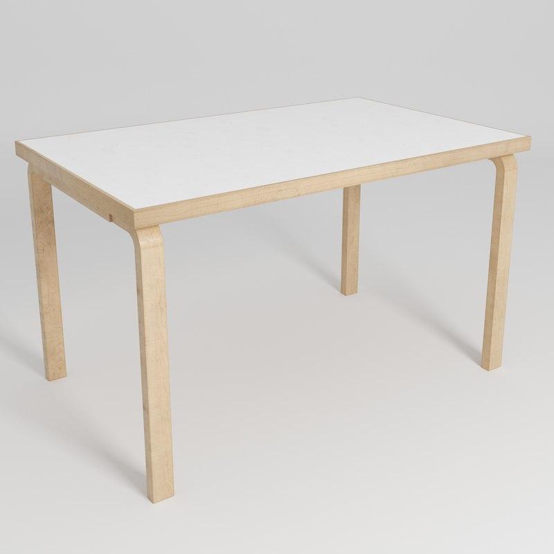 3D table alvar aalto