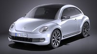 volkswagen beetle 2012 model